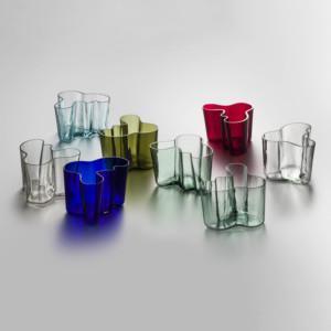 Aalto, Aalto-malja, Savoy, eri värejä, Iittala