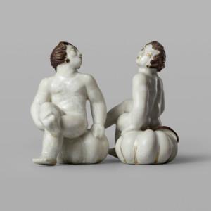 Tyra Lungren, Figuriini, puttohahmo ja kurpitsa, Arabia