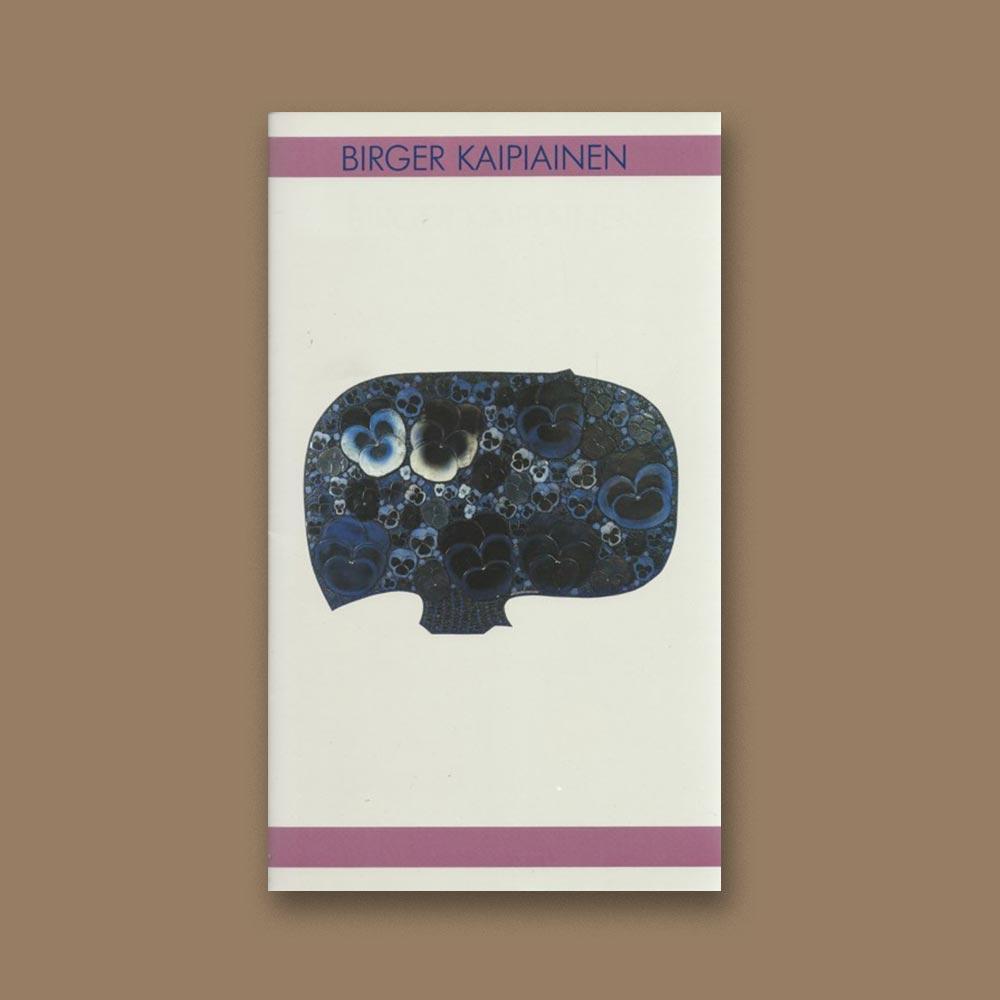 Birger Kaipiainen -kirjan kansi