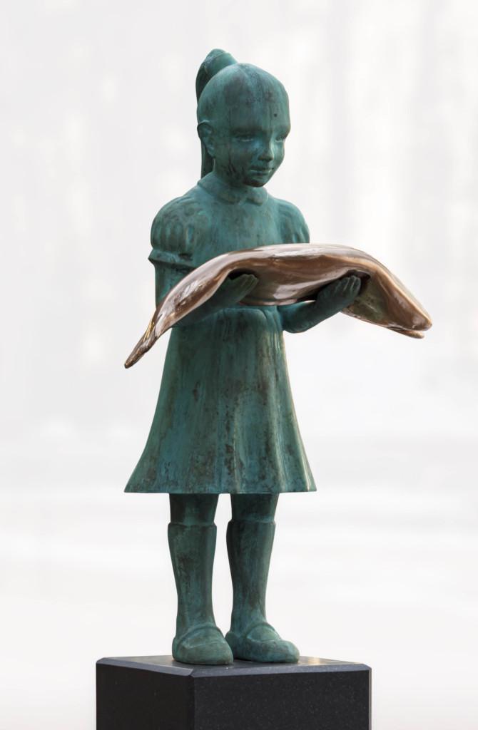 Kim Simonsson, Tyttö ja kala, Arabian taideosastoyhdistys