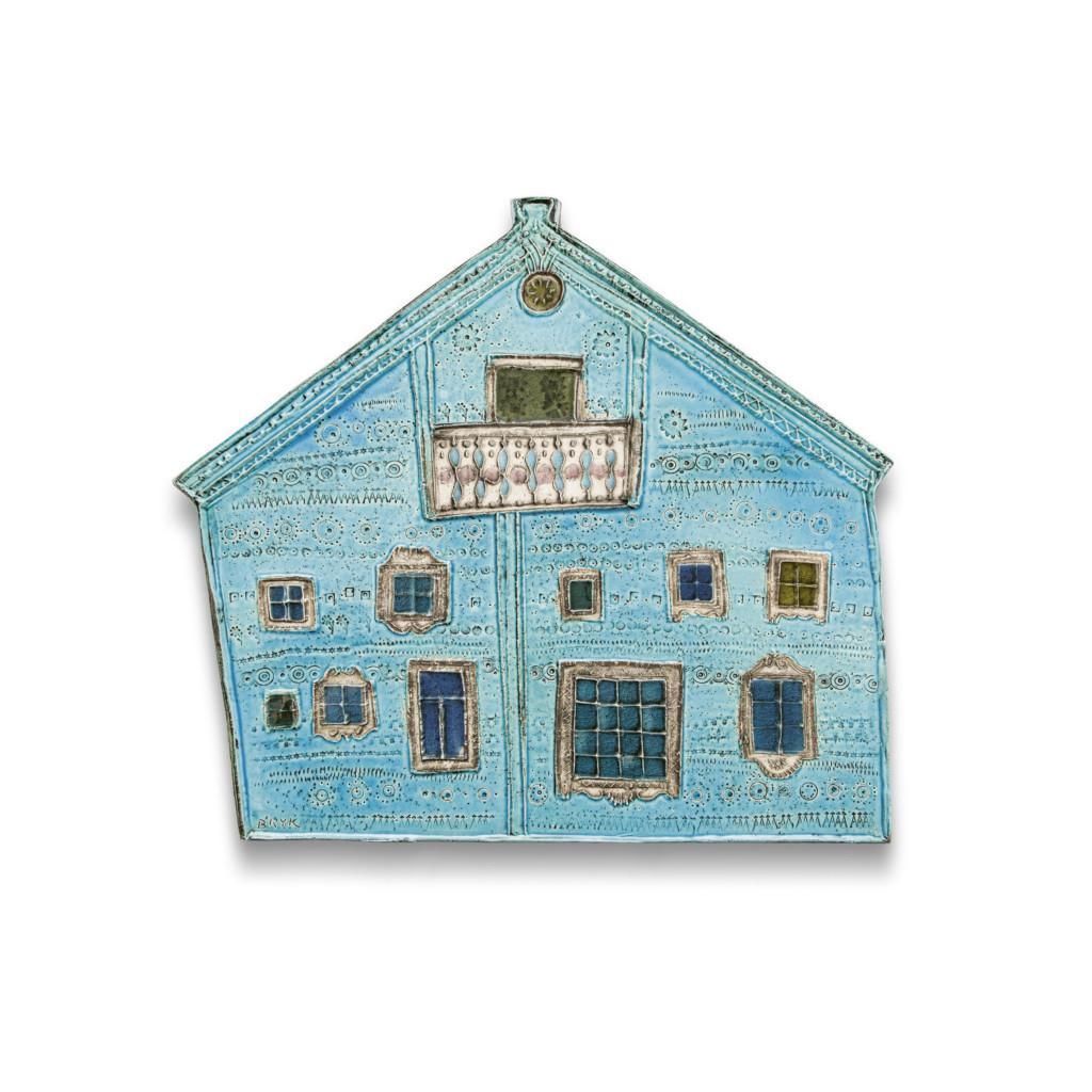 Rut Bryk, Karjalainen talo, sarjasta Karjalainen kylä, Arabia